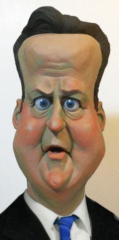 Cameron Caricature